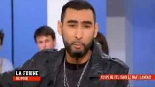 La Fouine avoue officiellement que tout son clash avec Booba était faux, sur Canal+
