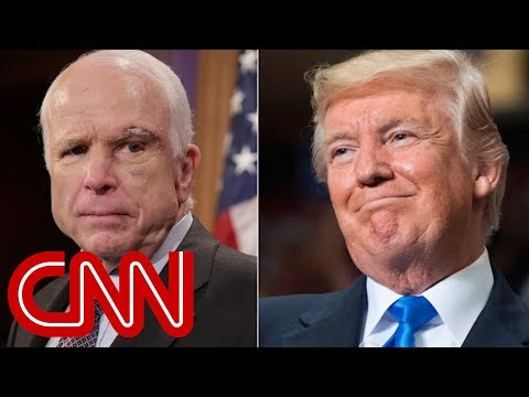 Trump wont be invited to John McCains funeral, source says