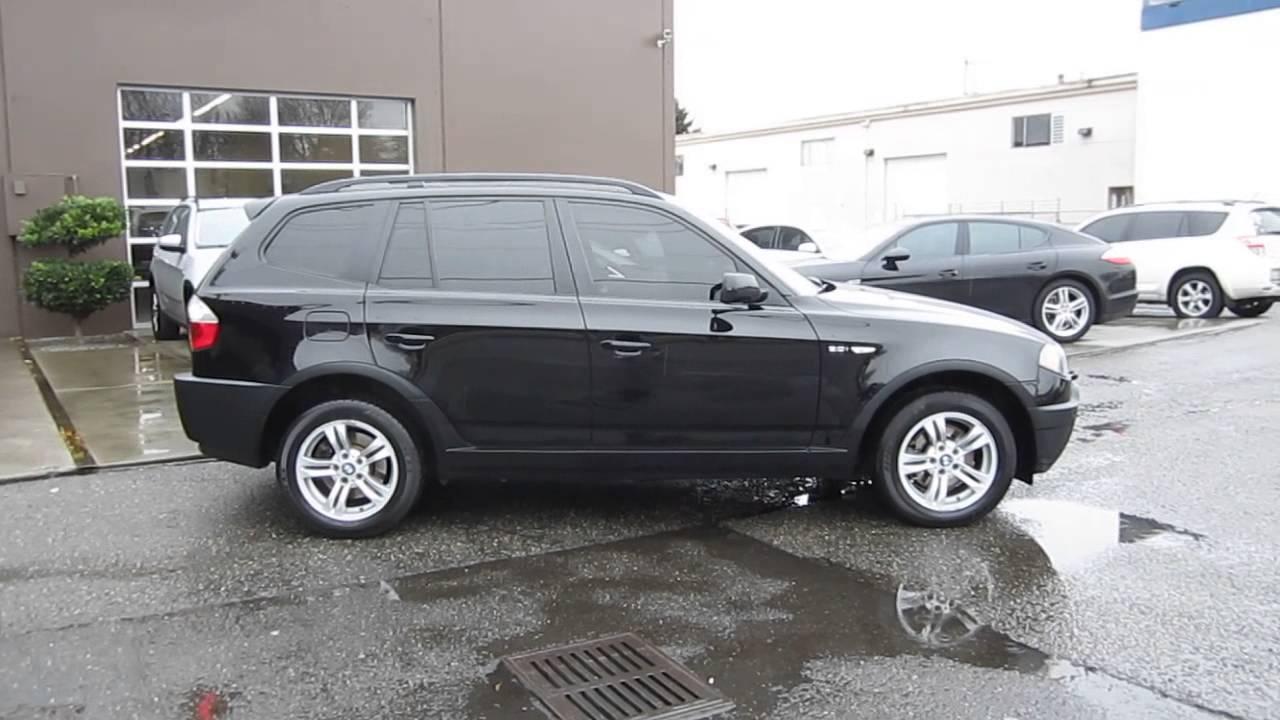 BMW X3 2005 Black -
