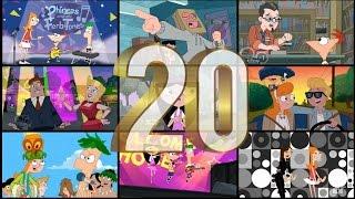 Especial - Top 20 Canciones De Phineas Y Ferb