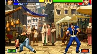 The King Of Fighters - RALF Galactica Phantom TRIBUTE