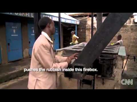 In Africa's largest slum, a cooker that turns trash into fuel - CNN.com.mp4