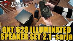 Trust Tytan GXT 628 Illuminated 2.1 -kaiutinsarja