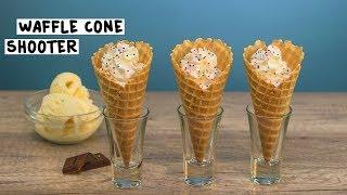 Waffle Cone Shooters - Tipsy Bartender