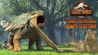 TREVORROW EXPLAINS HOW BUMPY CAN RETURN TO CAMP CRETACEOUS?   Jurassic World: Camp Cretaceous News!