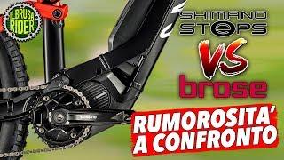 Il motore Shimano Steps E8000 è rumoroso? confronto con Brose
