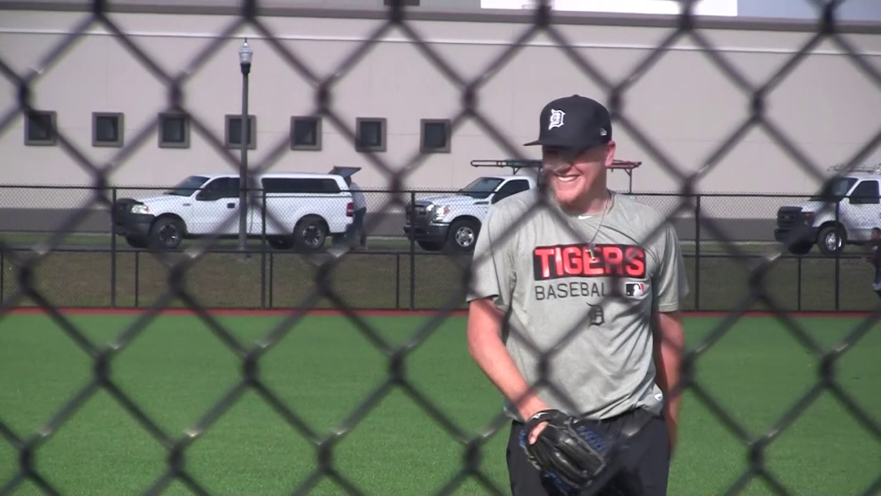 1da76cb29719d9 Tigers Spring Training 2017: Daniel Stumpf - YouTube
