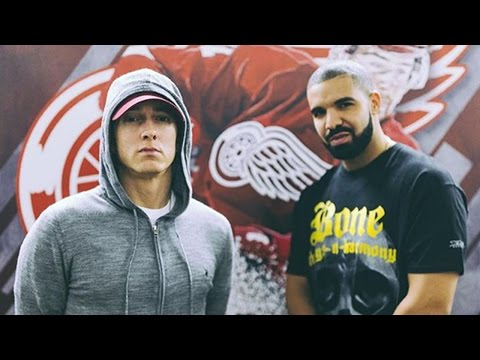 Drake Performs With Eminem in Detroit & Squashes Feud Rumors