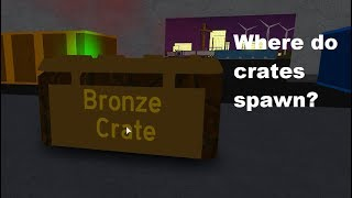 Where crates spawn| Full Throttle Roblox[OUTDATED]