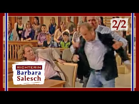 Vater Geht Im Gerichtssaal Auf Seinen Sohn Los!   Richterin Barbara Salesch   SAT.1