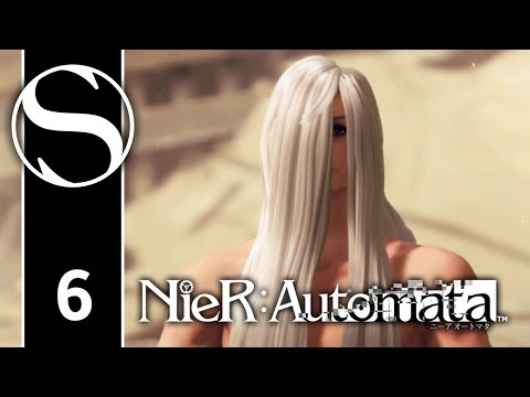 NIER AUTOMATA - Nier Automata Gameplay ENGLISH Part 6