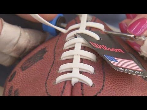 This Factory Makes All The Footballs Used In NFL Games