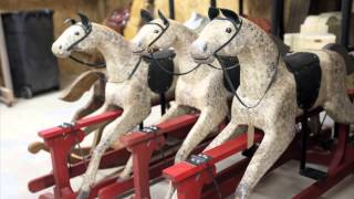 Rocking Horse for Prince George Commissioned by an Oklahoman