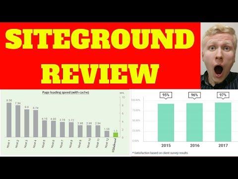 SITEGROUND WEB HOSTING REVIEWS 2018 – 97% Customer Satisfaction!
