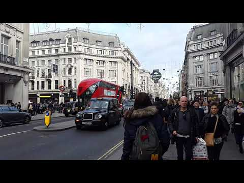 Worlds Fashion Mecca ..The Oxford Circus..Oxford Street .!!
