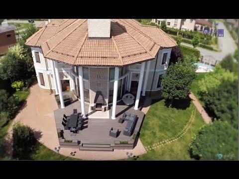 """Продажа дома в КП """"Гринфилд"""". Часть 1 (участок, вид с высоты)"""