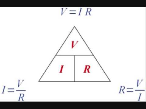 resistor part 2 ohm's law   ohm's law triangle   Power ... Ohms Law Power Triangle