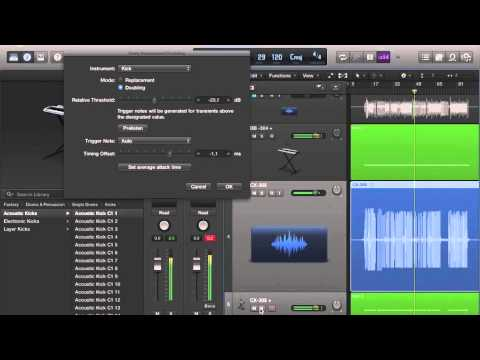 how to add drum kits in logic pro x
