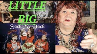 LITTLE BIG - S*ck My D*ck 2020 (Official Music Video) РЕАКЦИЯ НА ЛИТЛ БИГ САК МАЙ ДИК 2020