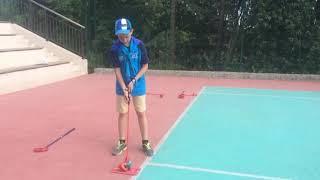 SNAG golf в Артеке. Бьёт Андрей, отряд Речной | 2025golf