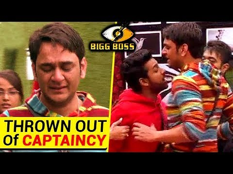 Vikas Gupta THROWN OUT Of CAPTAINCY | Physical FIGHT With Puneesh | Bigg Boss 11