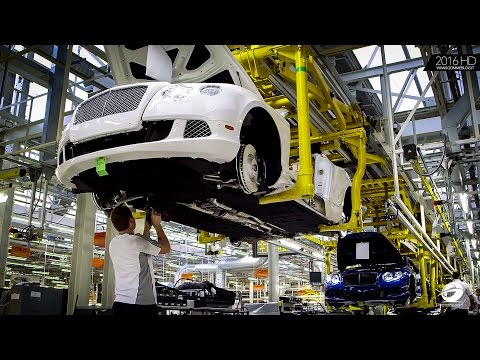 Bentley Factory   Continental GT Production - HOW IT'S MADE