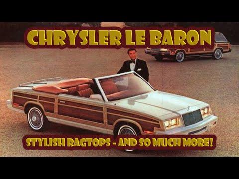 Here's how the LeBaron became one of Chrysler's longest running nameplates