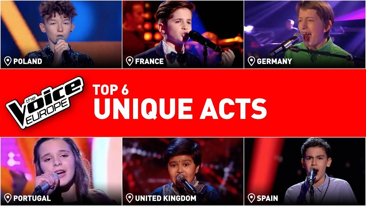 Unique & special performances in The Voice Kids