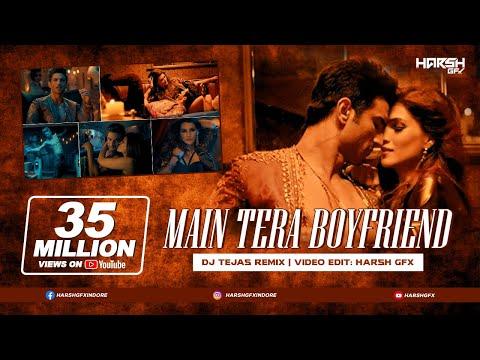 Raabta | Main Tera Boyfriend | DJ Tejas | Remix | Harsh GFX | Arijit Singh | Neha Kakkar | 2017