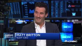 Matt Britton Live On CNBC Power Lunch 10/6/19 - Talking About The Streaming Ways (Netflix Disney+)