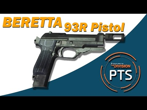 The Division - PTS 1.5 PATCH -  NEW BERETTA 93R BURST FIRE PISTOL