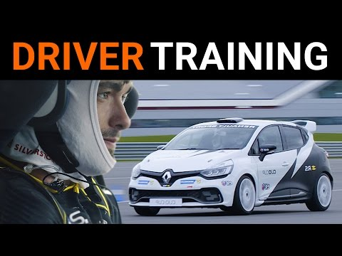 F1 Driver Training: Renault's Race Cars At Silverstone