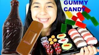 GUMMY CANDY GIANT COKE BOTTLE SUSHI BAND AID Chocolate|B2cutecupcakes