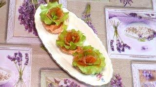 Закуска из лосося к праздничному столу