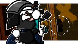 Door Stuck in Rainbow Six Siege (Animation)