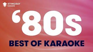 1 HOUR NON STOP BEST OF '80s MUSIC - KARAOKE WITH LYRICS