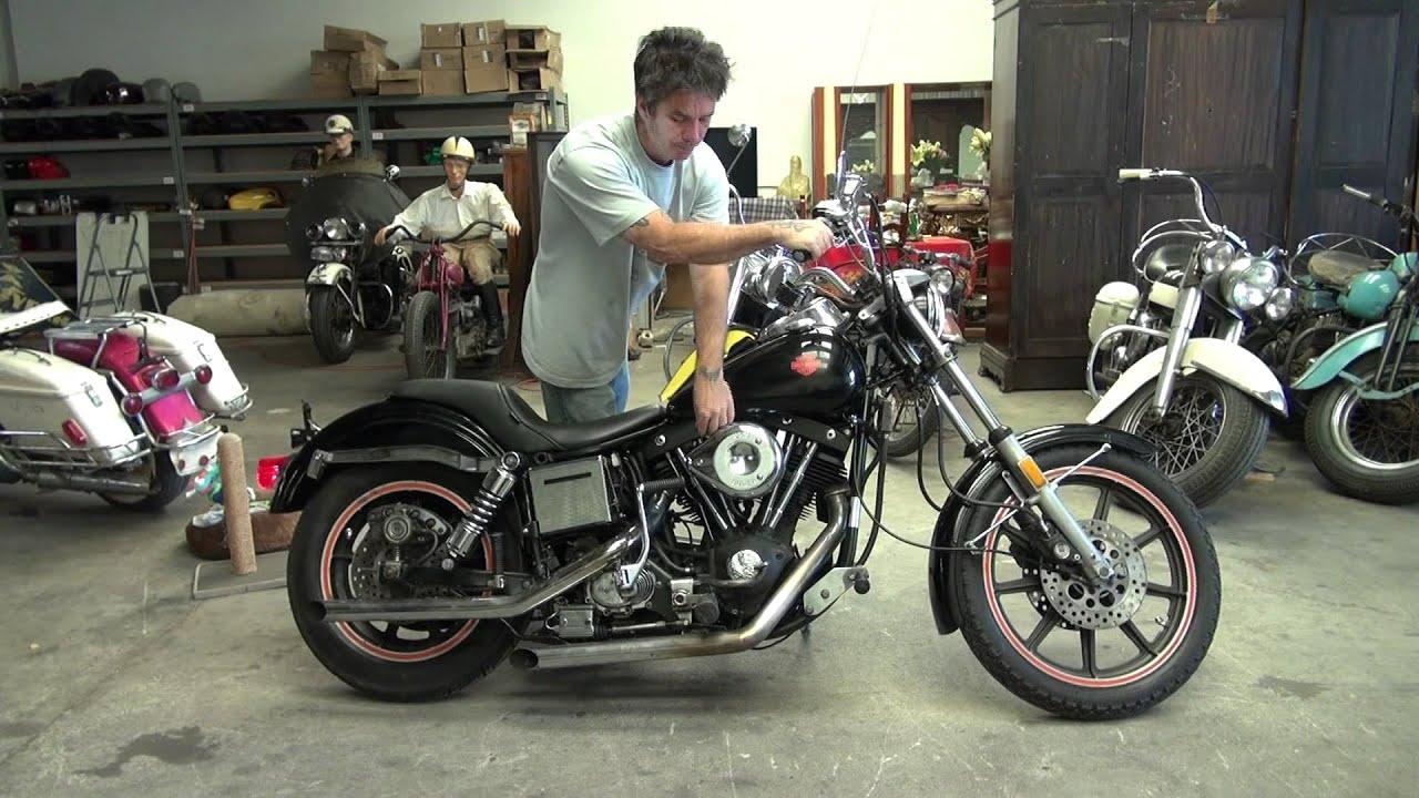 Hunting Harleys 1980 FXB Sturgis - YouTube