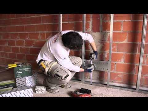 sistema soporte para instalaciones pladur cajetines 1 7