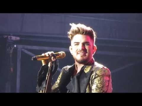 Radio Ga Ga Adam Lambert Queen 5 Feb 2020 Wellington