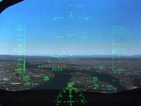 Rockwell Collins HGS Head-up Guidance System