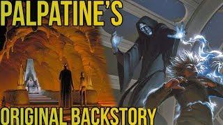 Palpatine's SURPRISING Original Backstory (Pre-Empire Strikes Back) | Star Wars Lore