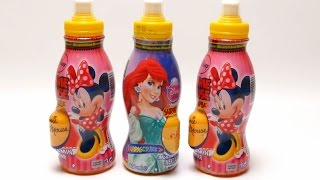 Surprise Egg with Toys Drinks - Minnie Mouse & Disney Princess