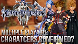 Kingdom Hearts 3 - Multiple Playable Characters Confirmed?