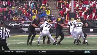 2015 Michigan Football Highlights @ Maryland
