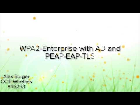 WPA2 Enterprise with AD and PEAP-EAP-TLS