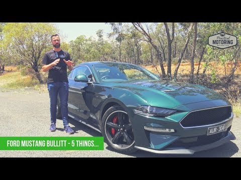 Ford Mustang Bullitt -  Things You Need to Know