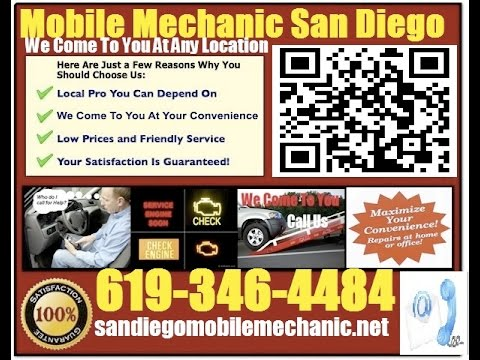 Mobile Auto Mechanic San Diego Pre Purchase Foreign Car ...