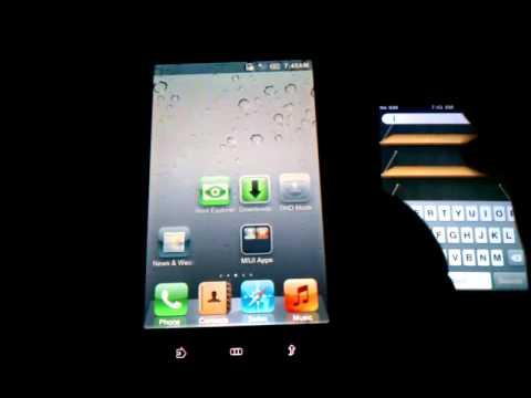 Dell streak 5 Running MIUI build 202170 + Ultimate iPhone Theme