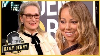 "Meryl Streep On Mariah Carey At The Golden Globes: ""B***h Stole My Seat!"" 