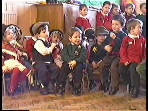 St David's Day at Ysgol Gynradd Gymraeg Aberdar 1996